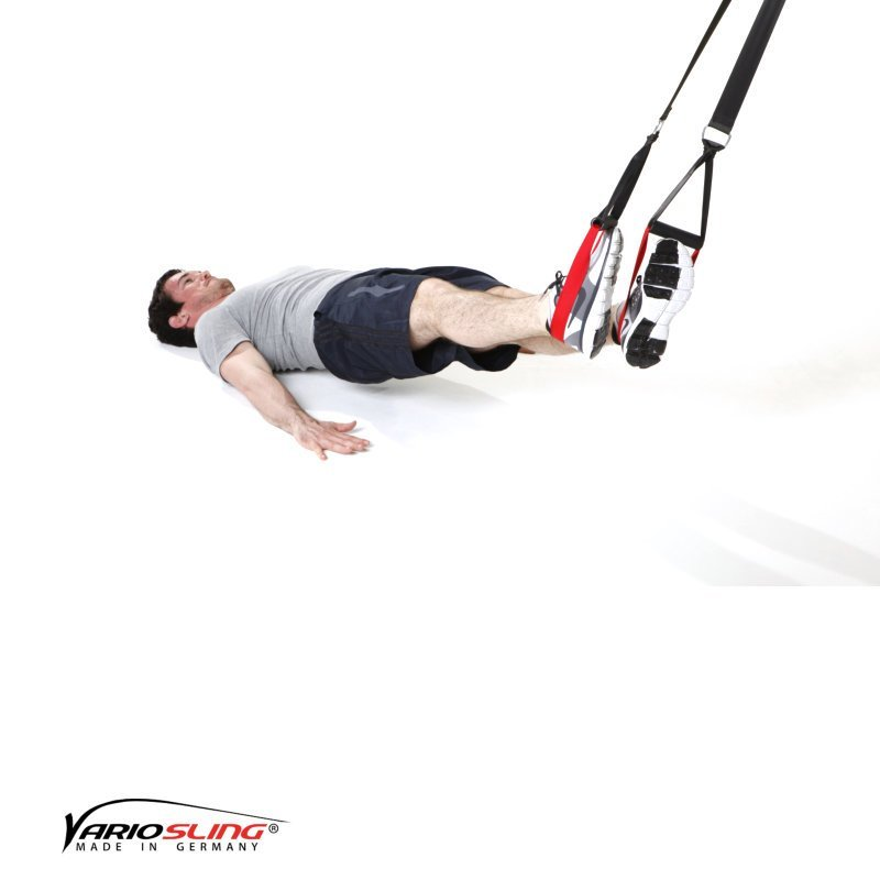 sling trainer r cken bungen trainingsplan workout f r zuhause. Black Bedroom Furniture Sets. Home Design Ideas