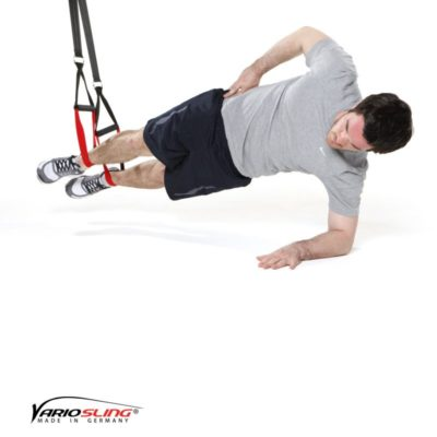 Sling-Trainer Bauchübung - Sidestaby