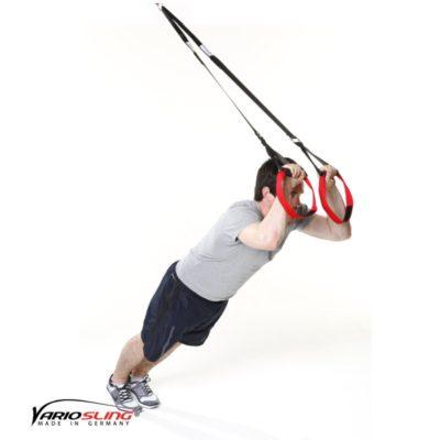 Sling-Trainer Übung - Trizeps zur Stirn