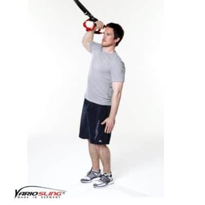 Sling-Trainer Armübung - Bizeps einarmig seitlich