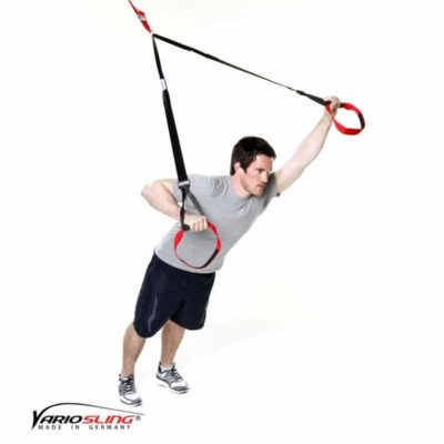 Sling-Trainer Brustübung - Chest Press eine Hand Pullover