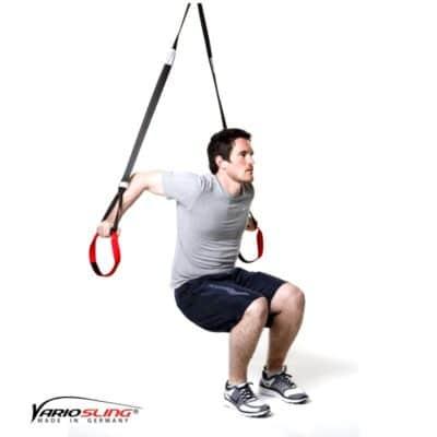 Sling-Trainer Armübung – Dips breit