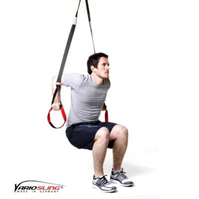 Sling-Trainer Armübung - Dips eng