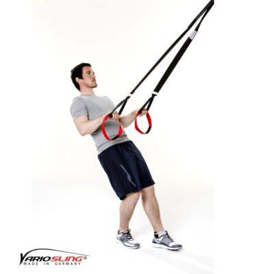 Sling-Trainer Armübung – Swim Pull mit Trizeps – Hände nach hinten