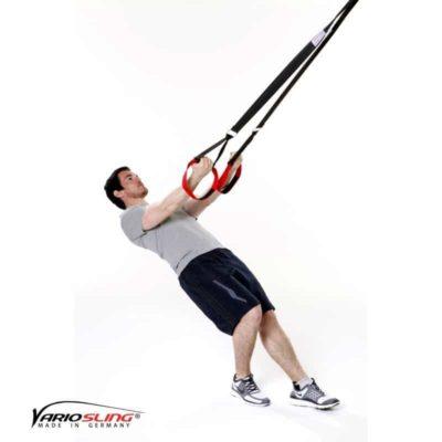 Sling-Trainer Armübung – Swim Pull mit Trizeps – Hände nach vorne