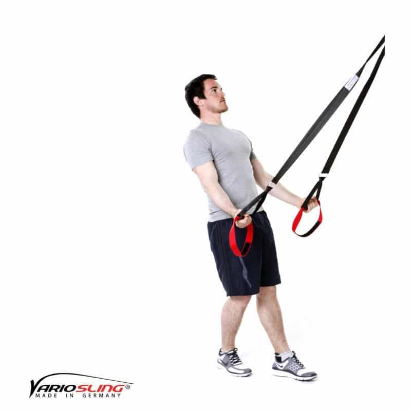 Sling-Trainer-Armübungen-Swim Pull mit Trizeps Hände nach vorne-02