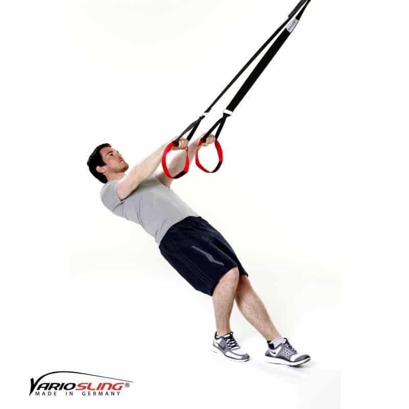 Sling-Trainer-Armübungen-Swim Pull mit versetzten Füßen-01
