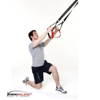 Sling-Trainer Übung – Einbeinige Kniebeuge