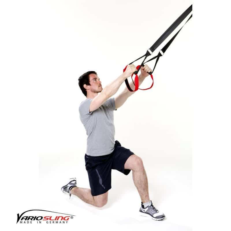sling trainer bein bung einbeinige kniebeuge mit seitlichem kniehub. Black Bedroom Furniture Sets. Home Design Ideas