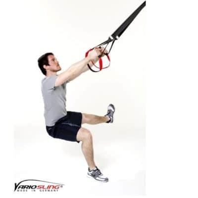 Sling-Trainer Beinübung - Hocke zur Seite mit Abduktion