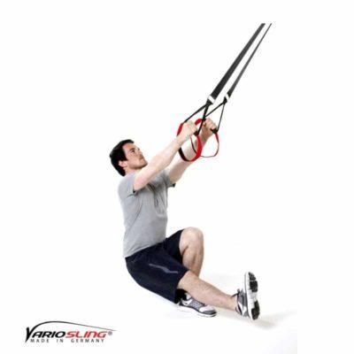 Sling-Trainer Beinübung – Pistols mit Armeinsatz