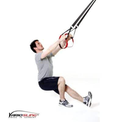 Sling-Trainer Beinübung – Pistols mit Sprung und Wechsel