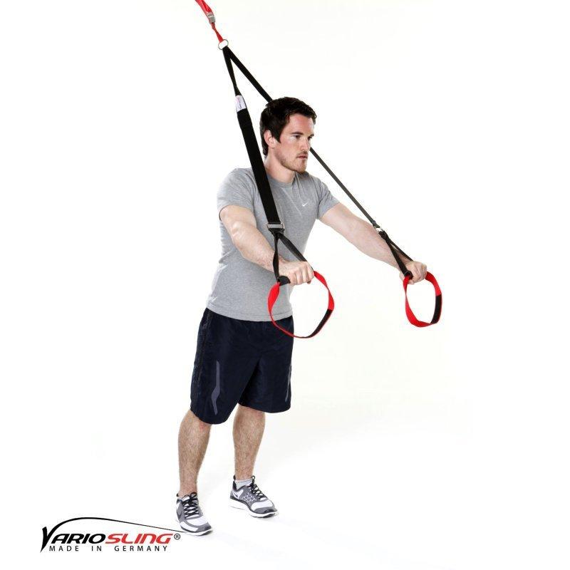 Sling-Trainer-Brustübungen-Chest Press eine Hand Fly-01