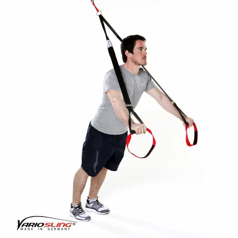 Sling-Trainer-Brustübungen-Chest Press gestreckt eine Hand Fly-01