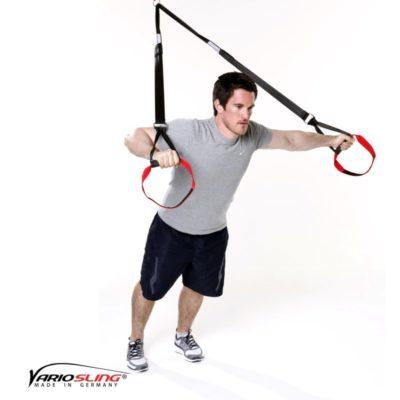 Sling-Trainer Brustübung - Chest Press gestreckt eine Hand Fly