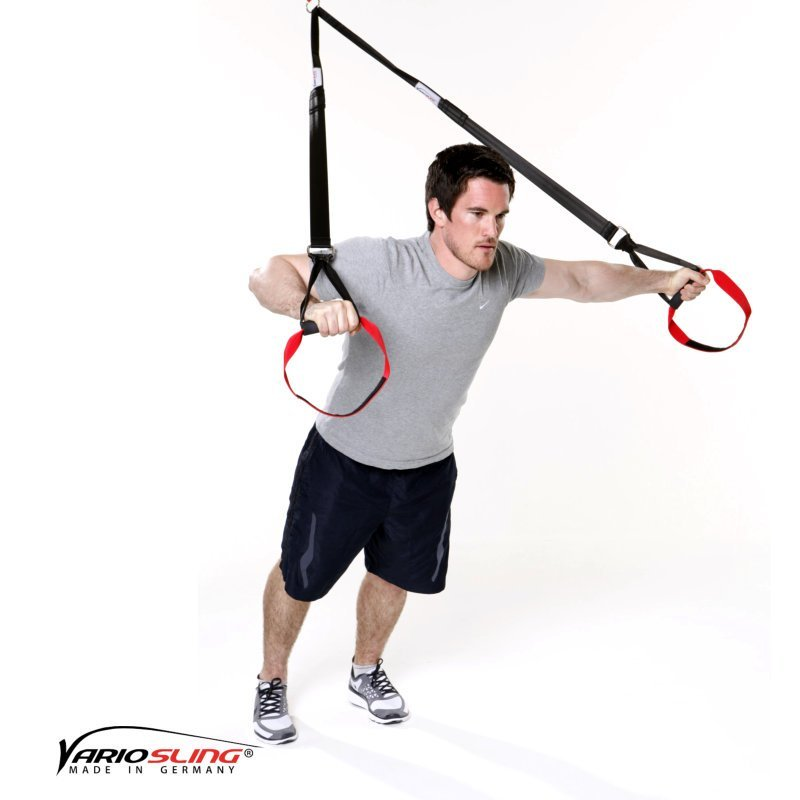 Sling-Trainer-Brustübungen-Chest Press gestreckt eine Hand Fly-02