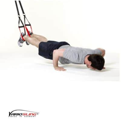 Sling-Trainer Brustübung – Push-up
