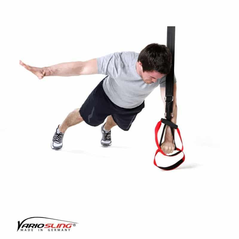 Sling-Trainer-Brustübungen-Push-up ein Arm zur Seite anheben-01