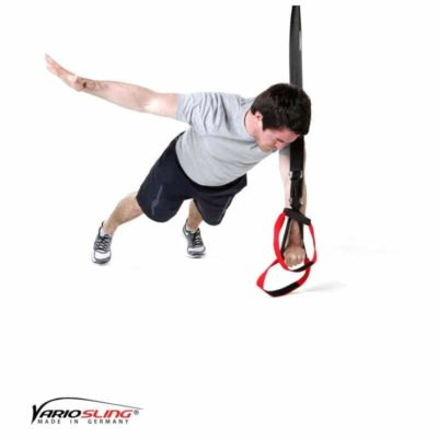 Sling-Trainer Brustübung – Push-up ein Arm zur Seite anheben