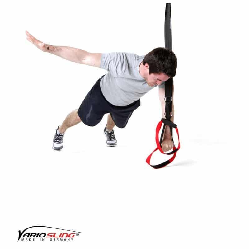 Sling-Trainer-Brustübungen-Push-up ein Arm zur Seite anheben-02