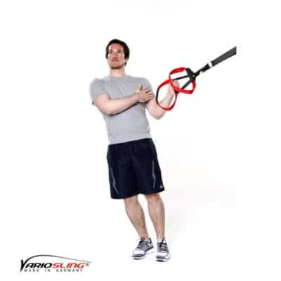 Sling-Trainer Schulterübung – Innenrotation
