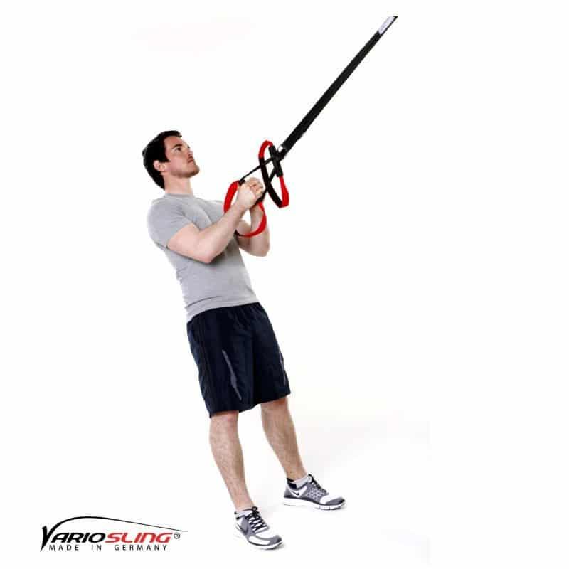Sling-Trainer-Oberkörperrotation bei gebeugten Armen-01