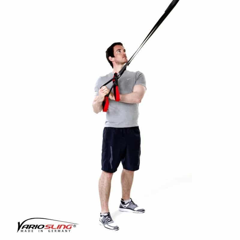 Sling-Trainer-Oberkörperrotation bei gebeugten Armen-02
