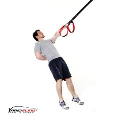 Sling-Trainer Rückentraining – High-Row einarmig