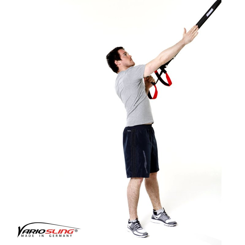 Sling-Trainer-Rückentraining-High-Row einarmig mit Rotation-01