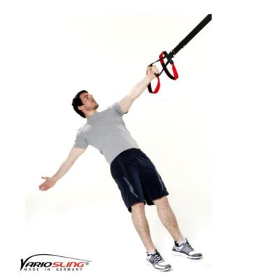 Sling-Trainer Rückentraining - High-Row einarmig mit Rotation