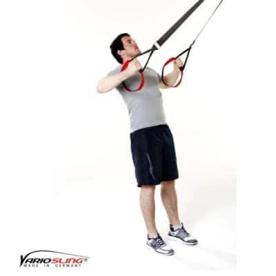 Sling-Trainer Rückentraining – High-Row mit Unterarmrotation
