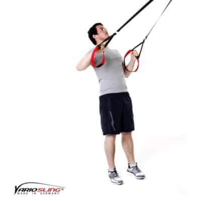 Sling-Trainer Rückentraining – High-Row Squat
