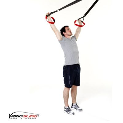 Sling-Trainer Rückentraining – Long Back Pull, V-Form