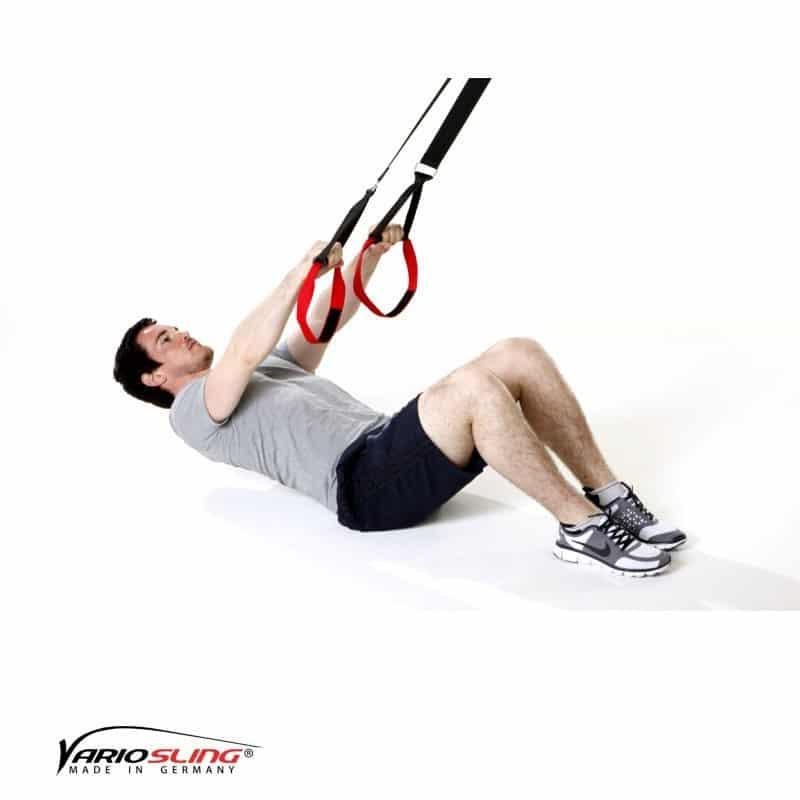 Sling-Trainer-Rückentraining-Long Back Pull im Sitzen mit Reverse Fly-01
