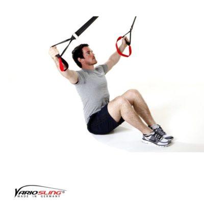 Sling-Trainer Rückentraining – Long Back Pull im Sitzen mit Reverse Fly