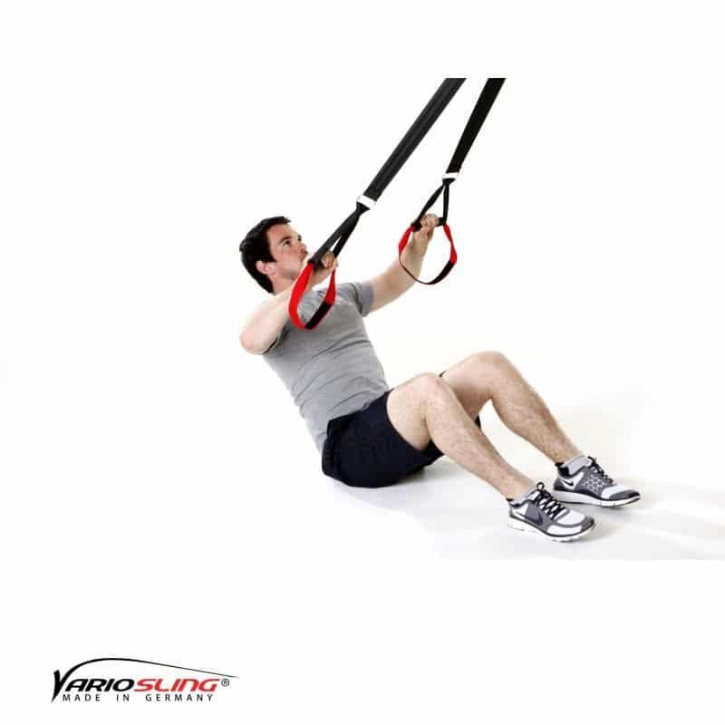 Sling-Trainer-Rückentraining-Long Back Pull im Sitzen und U-Form-01