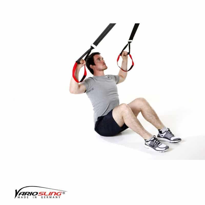 Sling-Trainer-Rückentraining-Long Back Pull im Sitzen und U-Form-02