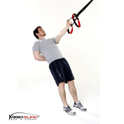 Sling-Trainer Rückentraining – Low-Row einarmig