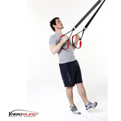 Sling-Trainer Rückentraining – Low-Row einbeinig
