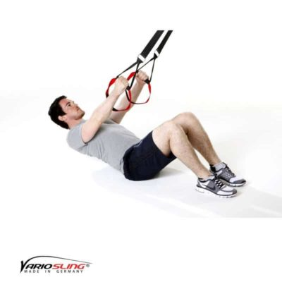 Sling-Trainer Rückentraining – Low-Row im Sitzen