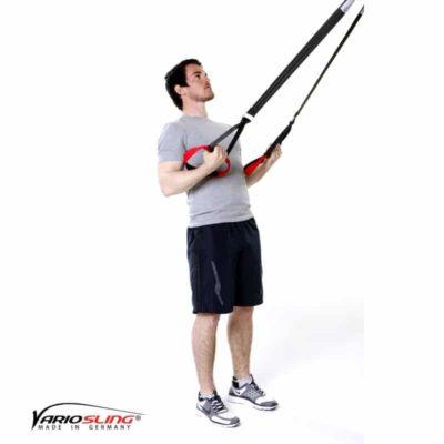Sling-Trainer Rückentraining – Low-Row mit Unterarmrotation