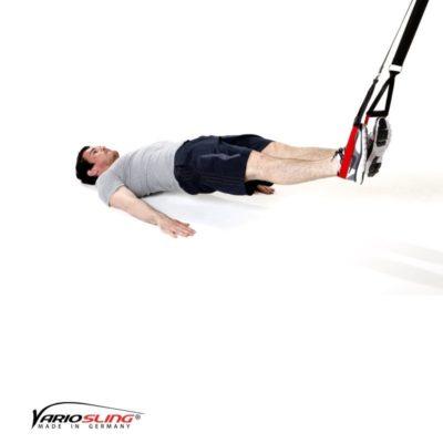 Sling-Trainer Übung – Ischiocrural beidbeinig gestreckt