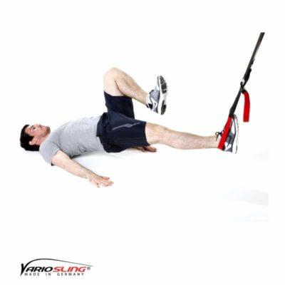 Sling-Trainer Rückentraining – Lower Back freies Bein anziehen