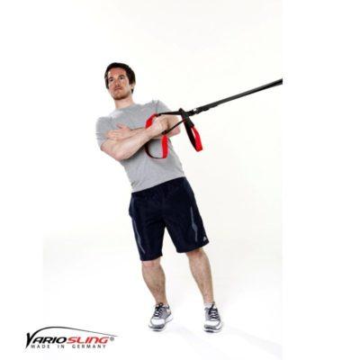Sling-Trainer Schulterübung – Außenrotation