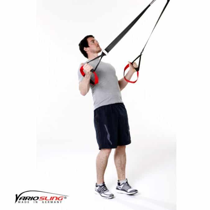Sling-Trainer Schulterübung – Rotation für Rhomboideus
