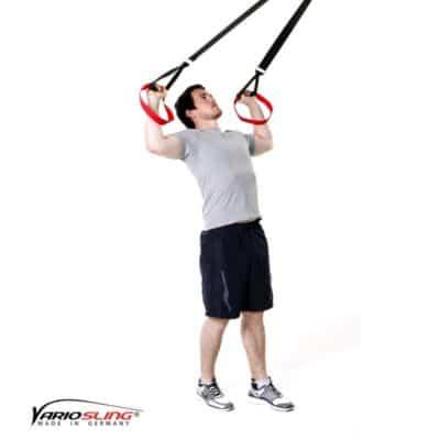 Sling-Trainer Schulterübung - Rotation mit Unterarmen nach oben