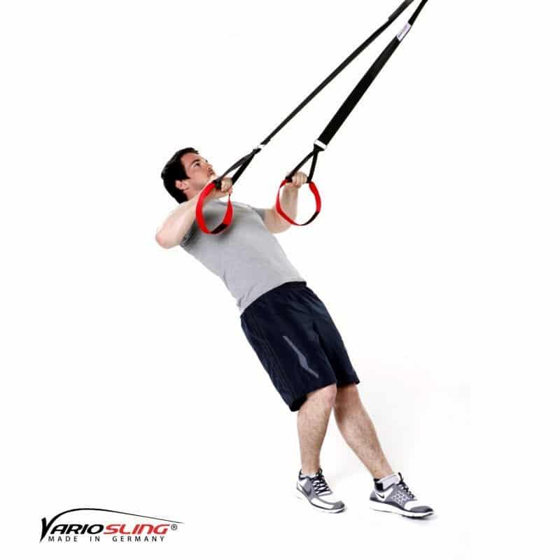 Sling-Trainer-Schulterübungen-Rotation mit Unterarme nach unten-01