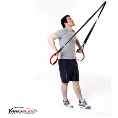 Sling-Trainer Schulterübung – Rotation mit Unterarmen nach unten