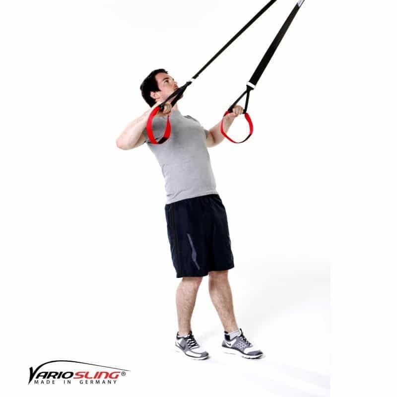 Sling-Trainer-Schulterübungen-Rotation mit Unterarme nach unten-oben-01