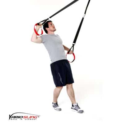 Sling-Trainer Schulterübung - Rotation mit Unterarme nach unten/oben